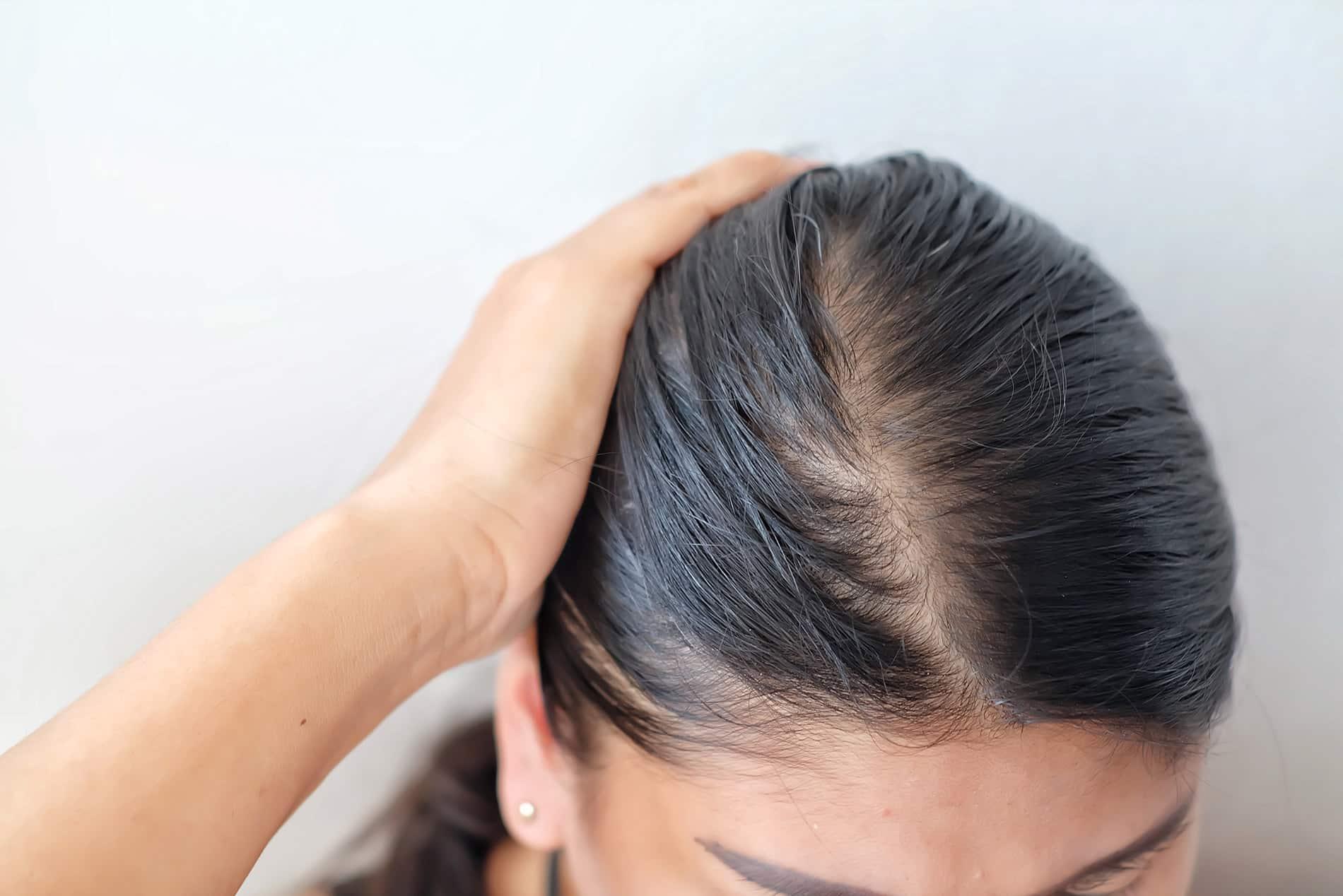 optyczne zagęszczanie włosów